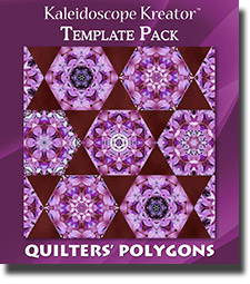 Quilters' Polygons Template Pack